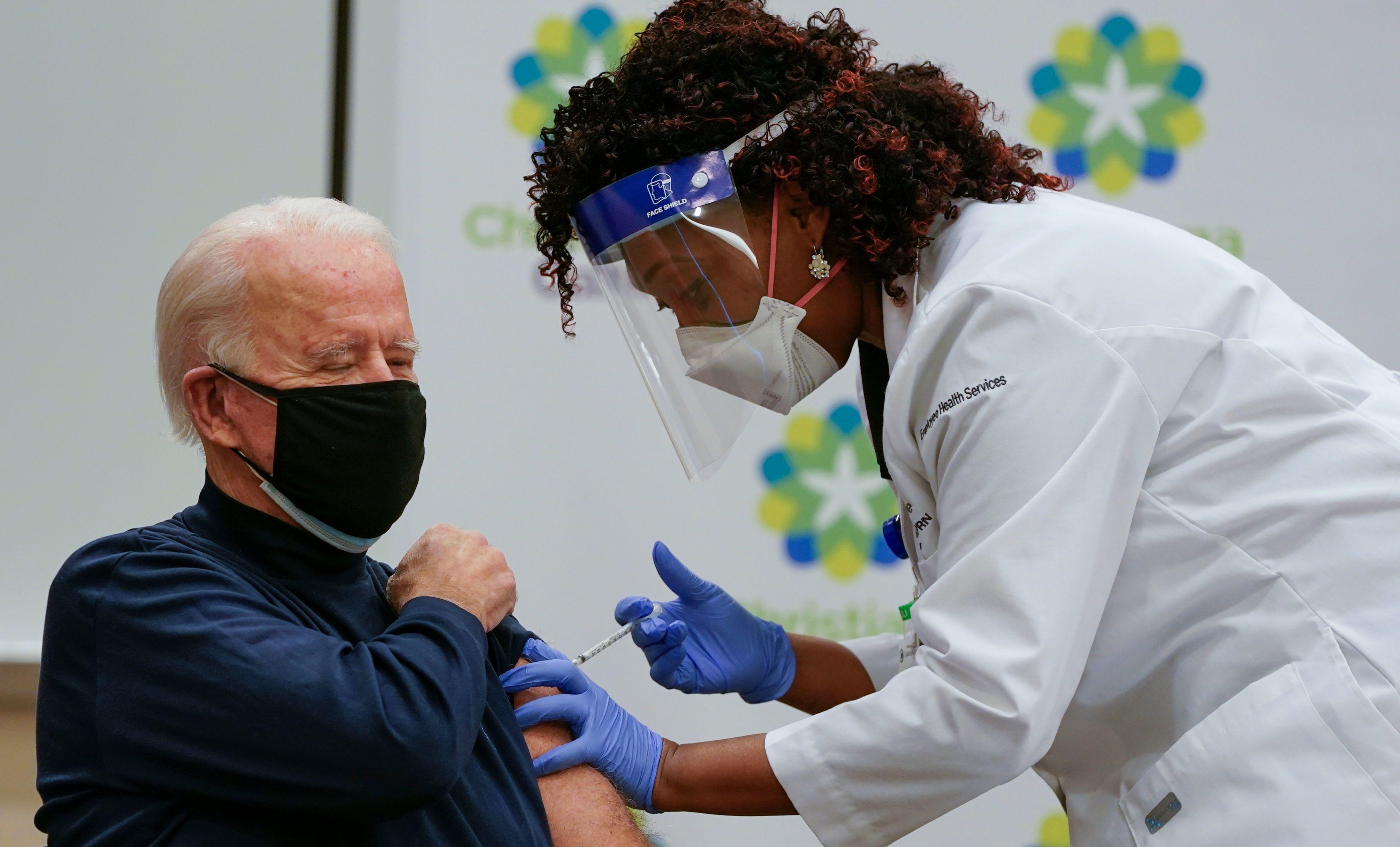 واکسن کرونا جو بایدن اوبر